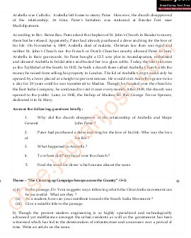 CBSE-CBSE Class 9 English Communicative Question Paper SA II Set 1 2015