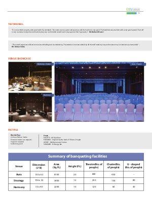 Experiential Venues ( ExV )-Experiential Venues 2015-16