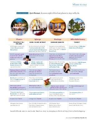 Conde Nast Traveller India-June - July 2015