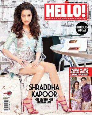 HELLO! India-HELLO! INDIA JULY 2015