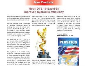 Modern Plastics India -Vol.16 | Issue - 06 | July 2015 | Mumbai