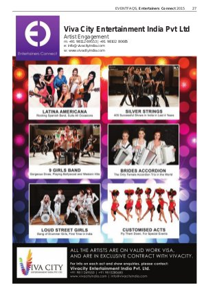 Entertainers Connect (EC)-Entertainers Connect 2015