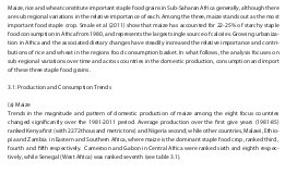 Agricultural pricing and public procurement in Sub-Saharan Africa-Research Paper