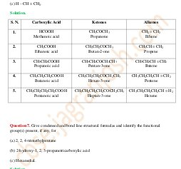 CBSE-Organic Chemistry Some Basic Principles and Techniques CBSE Class 11 NCERT Solution