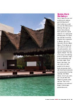 Outlook Traveller LUXE FEB-MAR 2014 -Outlook Traveller Luxe July-September 2015