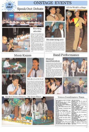 Voices-23rd July 2015