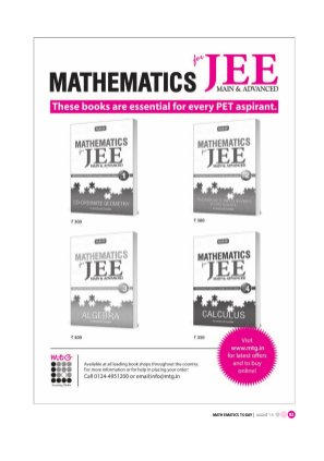 Mathematics Today-Aug 2015