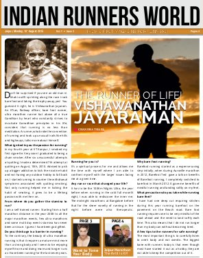 INDIAN RUNNERS WORLD-Indian Runners World August 2015