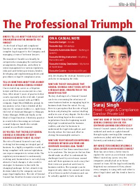 Lex WITNESS - India's First Magazine on Legal & Corporate Affairs-Lex Witness September 2015