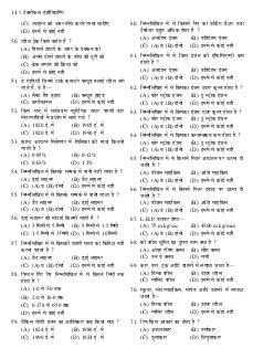 Railway Bharti Board Pariksha Practice Set Asst. Loco Pilot Evam Technician (Grade-III)-Wed Oct 07, 2015