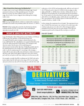 Dalal Street Investment Journal-Dalal Street Investment Journal 01 November, 2015 Vol. 30, Issue. No.23