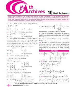Mathematics Today-Mathematics Today- November 2015