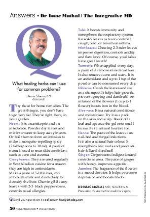 Prevention India-Prevention-November 2015