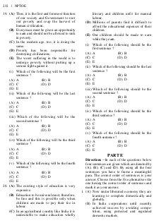 New Pattern Tests of Objective English (NPTOE)-Mon Nov 02, 2015