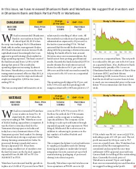 Dalal Street Investment Journal-Dalal Street Investment Journal 13 December, 2015 Vol. 30, Issue. No.26