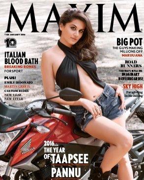 Maxim India-January 2016