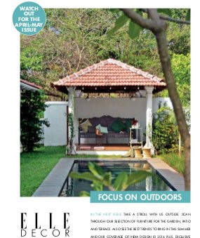 ELLE Decor-February - March 2016