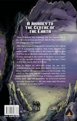 A Journey to the Centre of the Earth-Issue 1