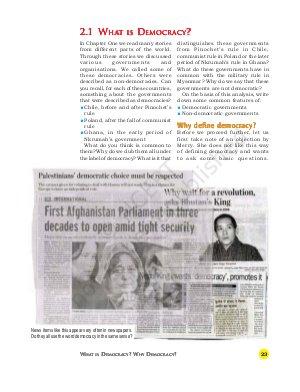 IAS-PCS-What is Democracy? Why Democracy?