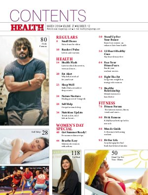 HEALTH-HEALTH MARCH 2016