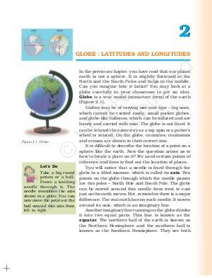 IAS-PCS-GLOBE : LATITUDES AND LONGITUDES