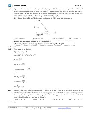 Engineering-JEE Main Solved Question Paper 2016