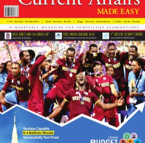 Current Affairs MADE EASY-April- May- June 2016