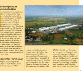 Stone & Tiles in India-Vol 1 No1 Oct-Nov 2012