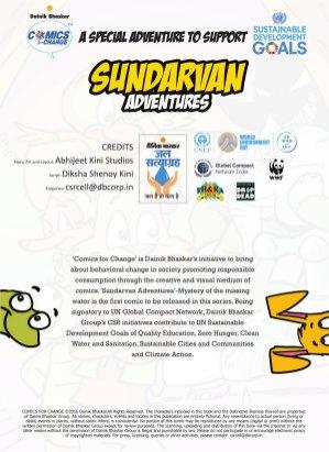 Comics For Change - Sundarvan Adventures-Comics For Change - Sundarvan Adventures