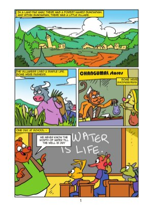 Comics For Change - Sundarvan Adventures-Comics For Change - Sundarvan Adventures