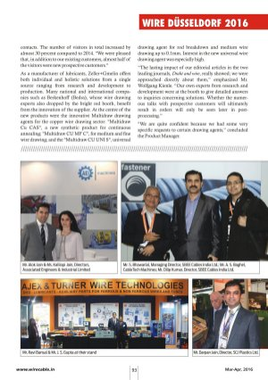 Wire & Cable India-Mar-Apr, 2016