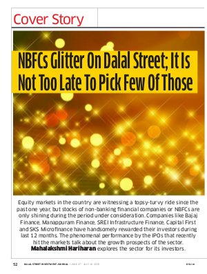 Dalal Street Investment Journal-Dalal Street Investment Journal Vol 31 Issue no 15  July 10, 2016