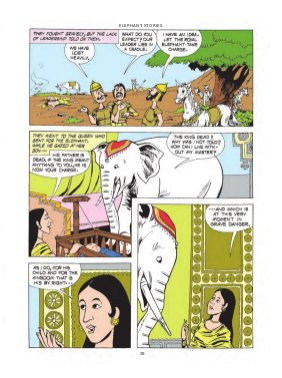 Amar Chitra Katha-Elephant Stories