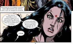 Draupadi: The Fire-Born Princess-Full Comic