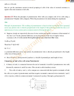 CBSE-CBSE Class 12 Physics Solved Practice Paper: Set – XII