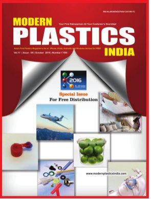Modern Plastics India -Vol.17  | Issue - 09 | October  2016 | Mumbai