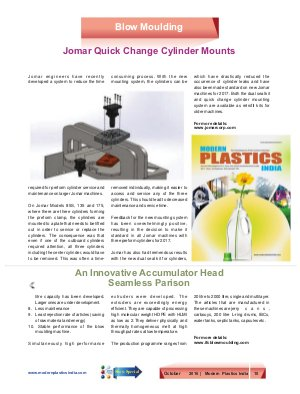 Modern Plastics India -Vol.17  | Issue - 09 | October  2016 | Mumbai