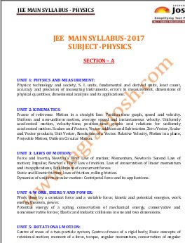 Engineering-JEE-MAIN-2017-Syllabus_Physics