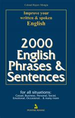 2000 ENGLISH PHRASES & SENTENCES | Fri Apr 26, 2013