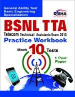 BSNL TTA Telecom Technical Assistants Exam 2013 Practice Workbook | Sat May 18, 2013