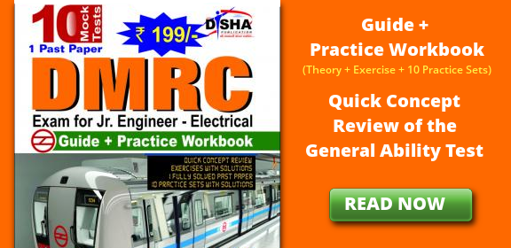 DMRC Exam for Jr. Engineer (Electrical) Guide + Practice Workbook (Theory + Exercise + 10 Practice Sets) has been specially designed to help students in the latest DMRC exam being conducted by DMRC. The book contains Quick Concept Review of the General Ability Test in 2 parts - Aptitude and Electrical Engineering. The Quick Concept Review is followed by a short exercise with solutions. The book also provides 1 past paper and 10 Practice Sets as per the pattern of DMRC Electrical Engineering exam. Each Practice Set is classified into 2 papers. Paper I is Objective Test containing General Ability section and Electrical Engineering section. – The General Ability section has questions on General Awareness, English, Logical Ability and Quantitative Aptitude. The Electrical Engineering section has 60 questions on the knowledge of the Electrical Engineering discipline/trade. The Paper II will consist of subjective type questions on Paragraph Writing, Comprehension, Essay and questions on Science & Technology matter to judge the candidate's comprehension skills & test of English language. One fully solved past paper has been provided to guide you about the pattern and the level of questions asked. The solutions are provided immediately at the end of each Set. The questions have been carefully selected so as to give you a real feel of the exam. It is our confidence that if you attempt each of the test with sincerity your score must improve atleast by 10-15%. The book provides Response Sheet for each objective test. Post each test you must do a Post-Test Analysis with the help of the Test Analysis & Feedback Sheet which has been provided for each Set.